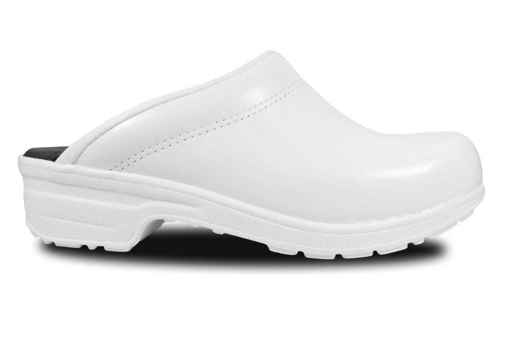 Clogs mit Flex-Sohle in Weiß, offen